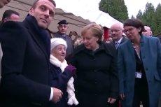 101-latka pomyliła Angelę Merkel z Brigitte Macron.