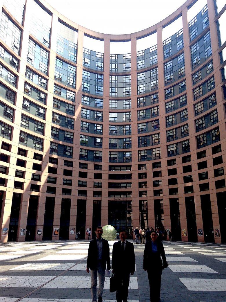 Parlament Europejski, Strasburg, 2016