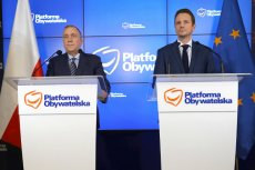 Grzegorz Schetyna przedstawił dziś Rafała Trzaskowskiego jako oficjalnego kandydata PO na prezydenta Warszawy.