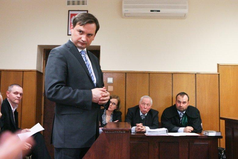 Zbigniew Ziobro będzie miał coraz większy wpływ na postępowania sądowe.