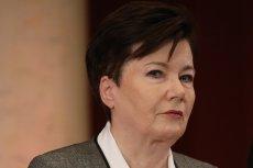 Hanna Gronkiewicz-Waltz rozważa prośbę do Joachima Brudzińskiego o ochronę.