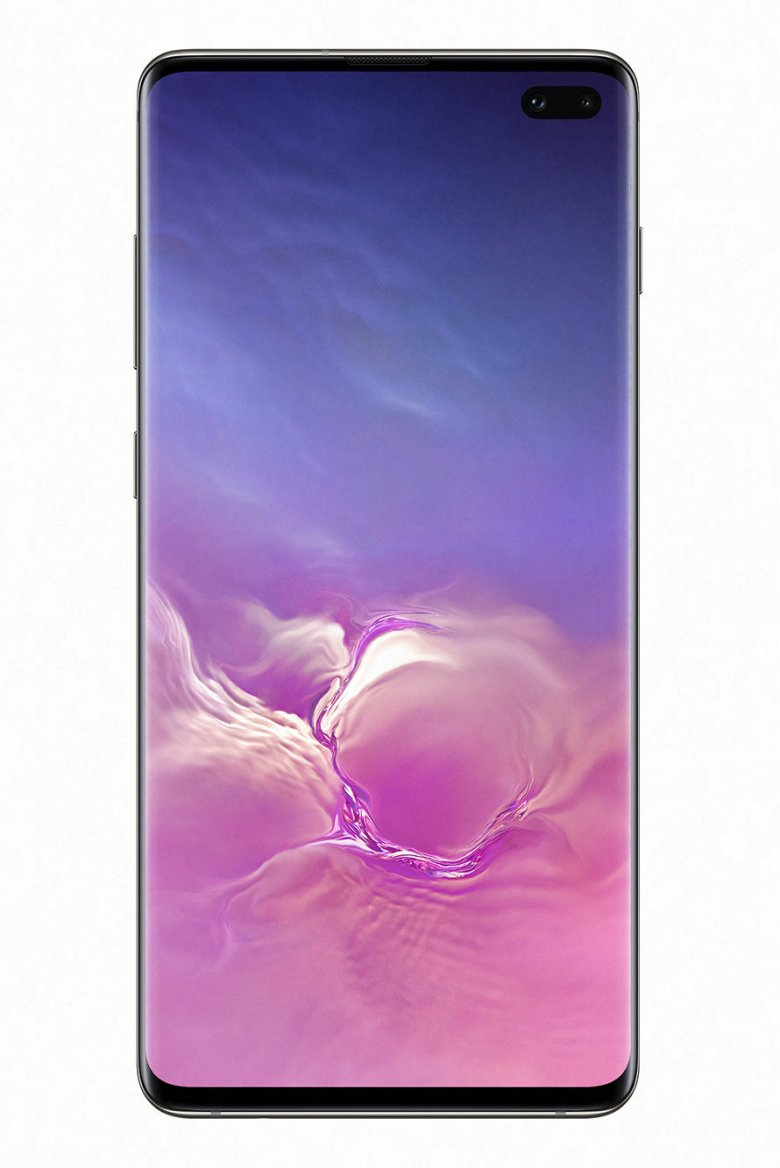 Przód ceramicznej wersji Galaxy S10+
