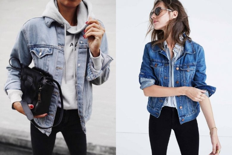 Kurtka jeansowa w klasycznej wersji
