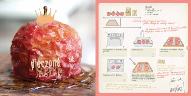 Pomysł na deser: pieczone jabłko