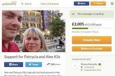 Zwykli Brytyjczycy zbierają pieniądze dla osieroconych córek Angeliki i Marcina Klisów, którzy zginęli w zamachu na Manchester Arena.