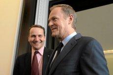 Donald Tusk i Radosław Sikorski wśród najpotężniejszych ludzi świata. Premier: Bądźmy poważni.
