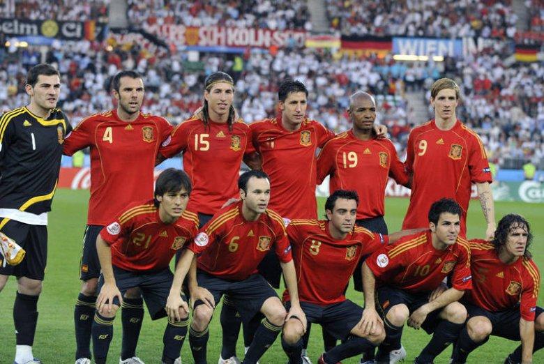Reprezentacja Hiszpanii jest jednym z faworytów Euro 2012