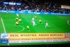 Real Madryt wygrał z Borussią 2:0. Polacy zagrają na Wembley