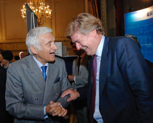 Jerzy Buzek (z lewej) był przewodniczącym Parlamentu Europejskiego w latach 2009-2012