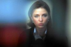 Joanna Mucha jest za ładna, więc budzi podejrzenia