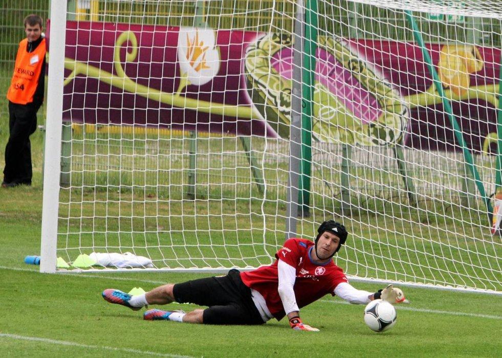 Petr Czech, z reprezentacji Czech, jeden z najlepszych bramkarzy Euro 2012.