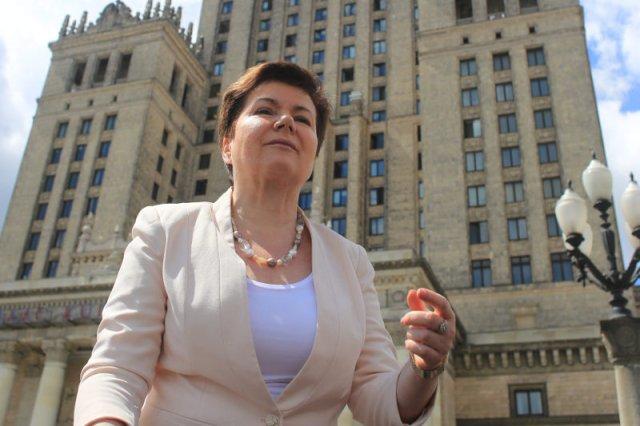 Prezydent Hanna Gronkiewicz-Waltz znana jest z bliskich kontaktów z Kościołem