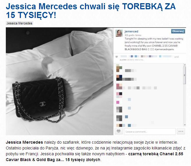 Chanel 2.55 Caviar Black & Gold Bag kosztuje około 15 tysięcy złotych