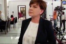 Beata Szydło o tym wywiadzie wolałaby zapomnieć.