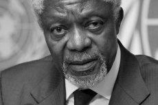 Kofi Annan nie żyje. Były sekretarz generalny ONZ miał 80 lat.