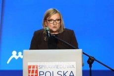Beata Kempa przepuściła bulwersujący, homofobiczny atak na Roberta Biedronia i jego partnera Krzysztofa Śmiszka podczas konwencji Solidarnej Polski.