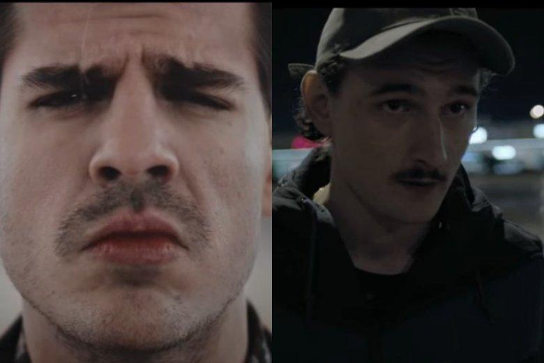 Taco Hemingway i Dawid Podsiadło kochają retro wąsik, nawiązujący do stylistyki lat 90tych. Na nich i na innych znanych, wzorują się inni