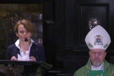 Wicepremier Jadwiga Emilewicz na tydzień przed wyborami prezydenckimi przemawiała na Jasnej Górze.