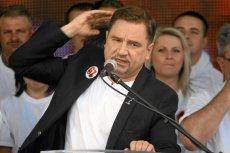 """Szef """"Solidarności"""" Piotr Duda zapewnia, że ciągle chce obalić rząd. Jak nie dziś, to jutro."""