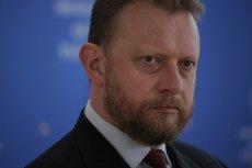 """Łukasz Szumowski był gościem w programie """"RZECZoPOLITYCE""""."""