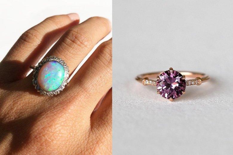 Coraz częściej panowie wybierają pierścionki vintage albo takie z kamieniem, którego kolor uwielbiają ich przyszłe narzeczone