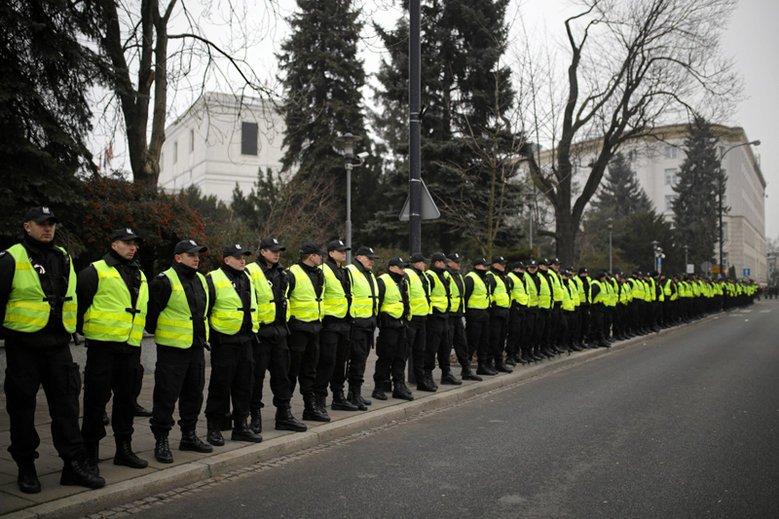 Jak wielu policjantów chętnie wypełnia polityczne rozkazy?