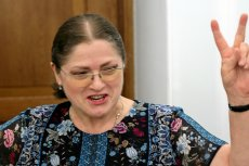 Krystyna Pawłowicz po raz kolejny pokazała, jaki poziom kultury osobistej ceni.