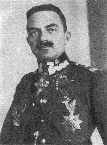 Gen. Włodzimierz Zagórski - zadeklarowany przeciwnik Józefa Piłsudskiego.