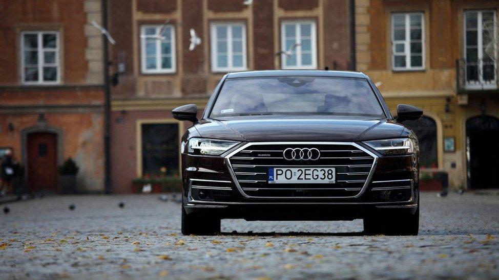 Nowe Audi A8 To Obrzydliwie Elegancka I Zaawansowana Limuzyna