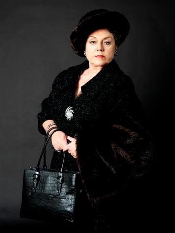 """Ewa Podleś jako Zia Principessa w """"Suor Angelica"""" San Francisco Opera 2009"""