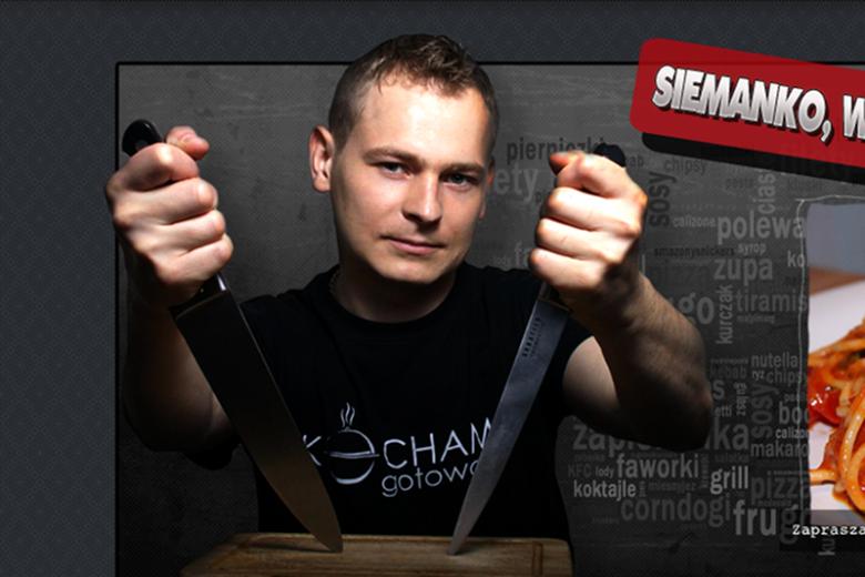 """Wywiad z vlogerem Piotrem Ogińskim, autorem """"Kocham Gotować"""", którego firma Sokołów pozwała na 150 tys. złotych."""