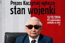 """Okładka najnowszego numeru """"Polityki"""" raczej nie spodoba się sympatykom Jarosława Kaczyńskiego"""