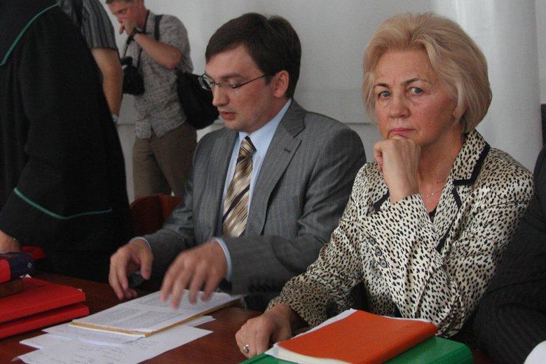 Minister Zbigniew Ziobro z matką Krystyną Kornicką-Ziobro