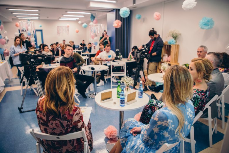Uroczystość otwarcia odnowionej porodówki Ginekologiczno-Położniczego Szpitala Klinicznego w Poznaniu