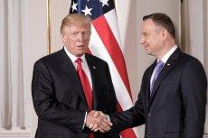 Donald Trump pogratulował Andrzejowi Dudzie reelekcji.