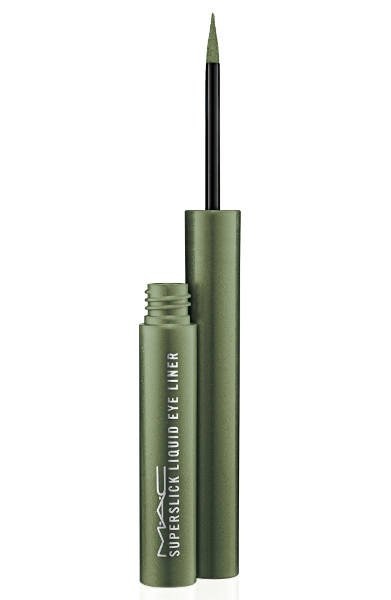 Zielony Superslick Liquid Eyeliner MAC