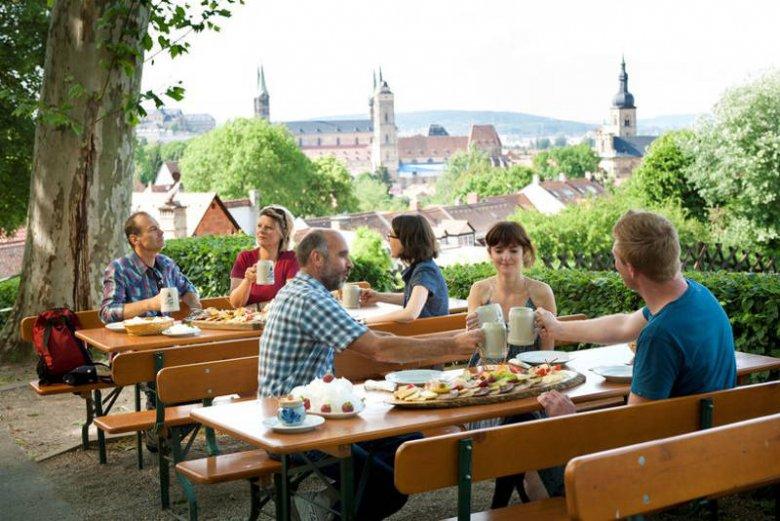 Bamberg, w piwiarni