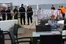 Policja nie zrobiła nic, żeby przerwać nielegalną manifestację.