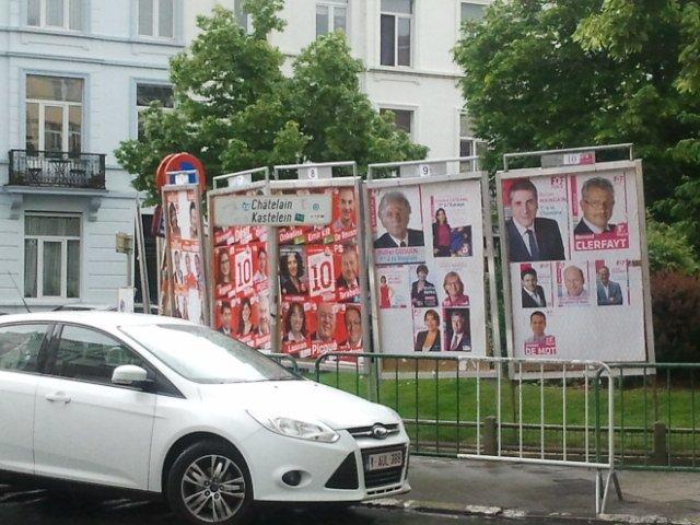 Kampania wyborcza w Belgi