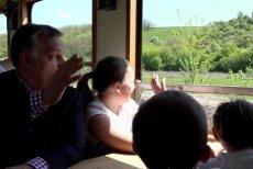 Orban otwiera połączenie kolejowe w Felcsut.