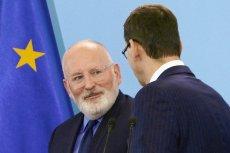 Po spotkaniu przewodniczącego RE Donalda Tuska z liderami frakcji PE wynika, iż nowym szefem KE będzie Frans Timmermans.