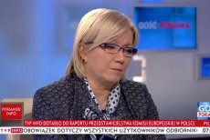 Sędzia Przyłębska przyszła do studia z gotowątezą