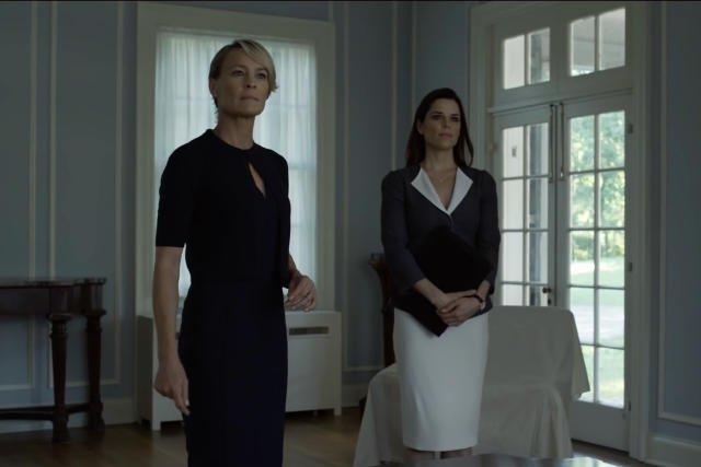 Claire i jej nowa prawa ręka? Pierwsza dama nie może być jeszcze pewna, czy może jej zaufać.