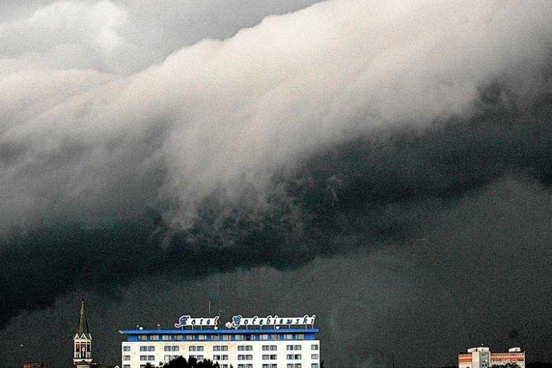Burza nad Mikołajkami