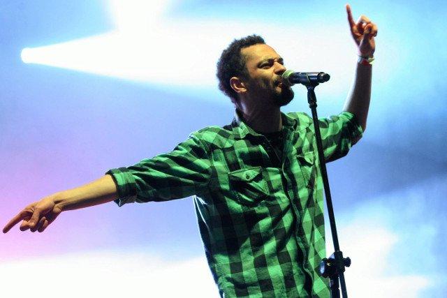 Chillu podczas koncertu w Lublinie