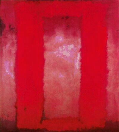 Red on maroon / Mark Rothko