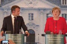 Macron i Merkel: będzie własny budżet strefy euro.