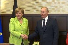 W sobotę 11 stycznia kanclerz Niemiec Angela Merkel spotka się z prezydentem Rosji Władimirem Putinem na Kremlu.