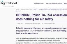 Popularna strona lotnicza o rewelacjach komisji smoleńskiej.
