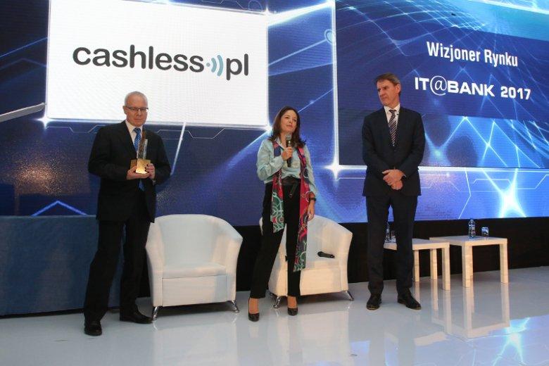 Maria Campos uhonorowana tytułem Wizjoner Rynku podczas tegorocznej konferencji IT@Bank